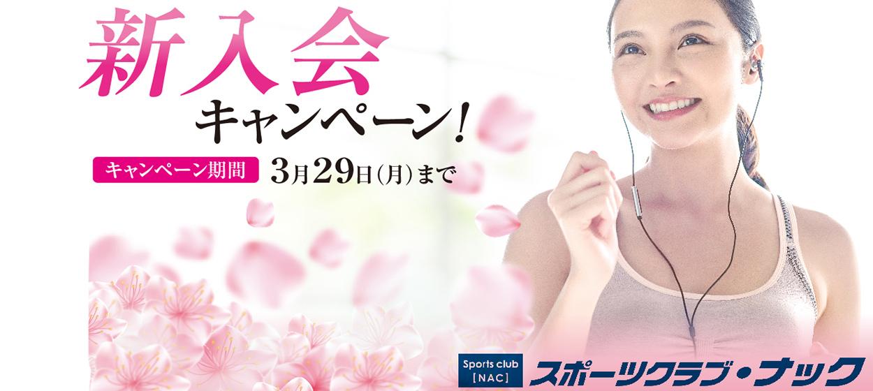 新入会キャンペーン 3/29